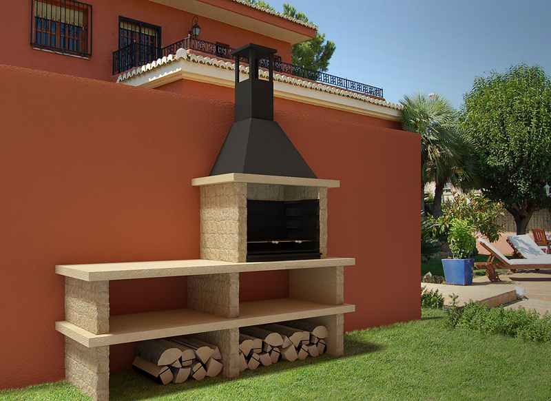Barbacoa pirineos 43002 for Impermeabilizar pared ladrillo exterior